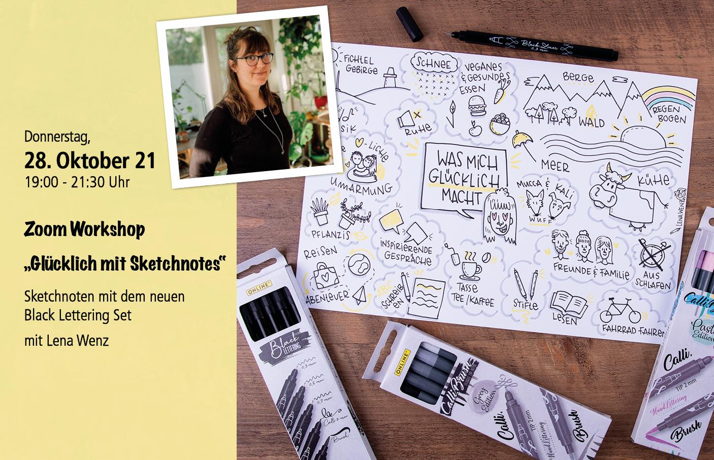 Live Workshop Kurs Oktober mit Materialpaket