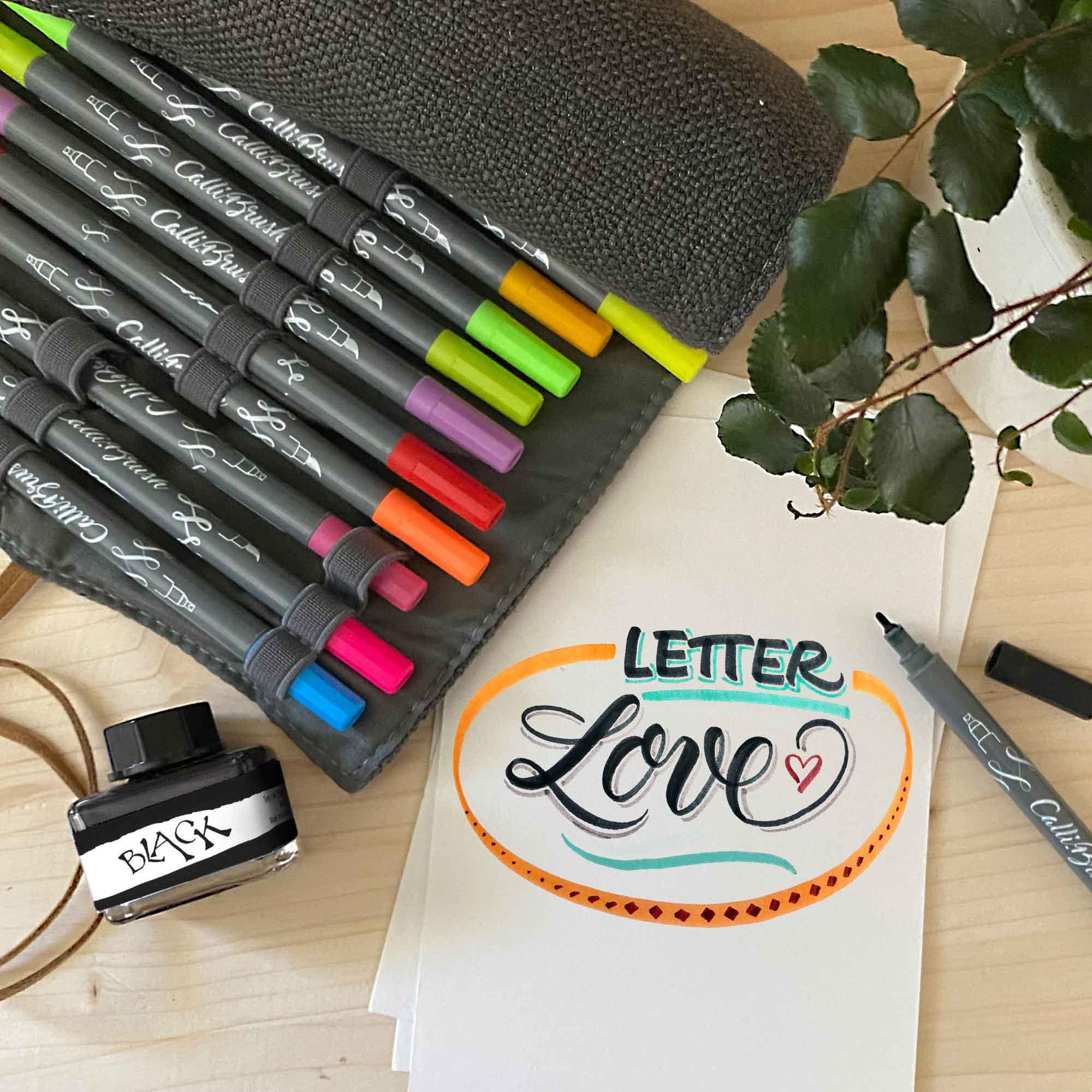 Handlettering-Workshop Fortgeschrittene 18.03. inkl. Material-Paket