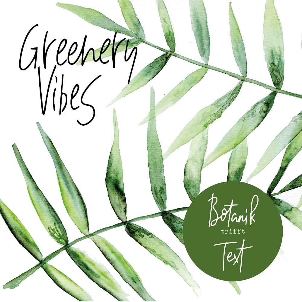 Greenery Vibes Workshop 27.05. mit Material-Paket