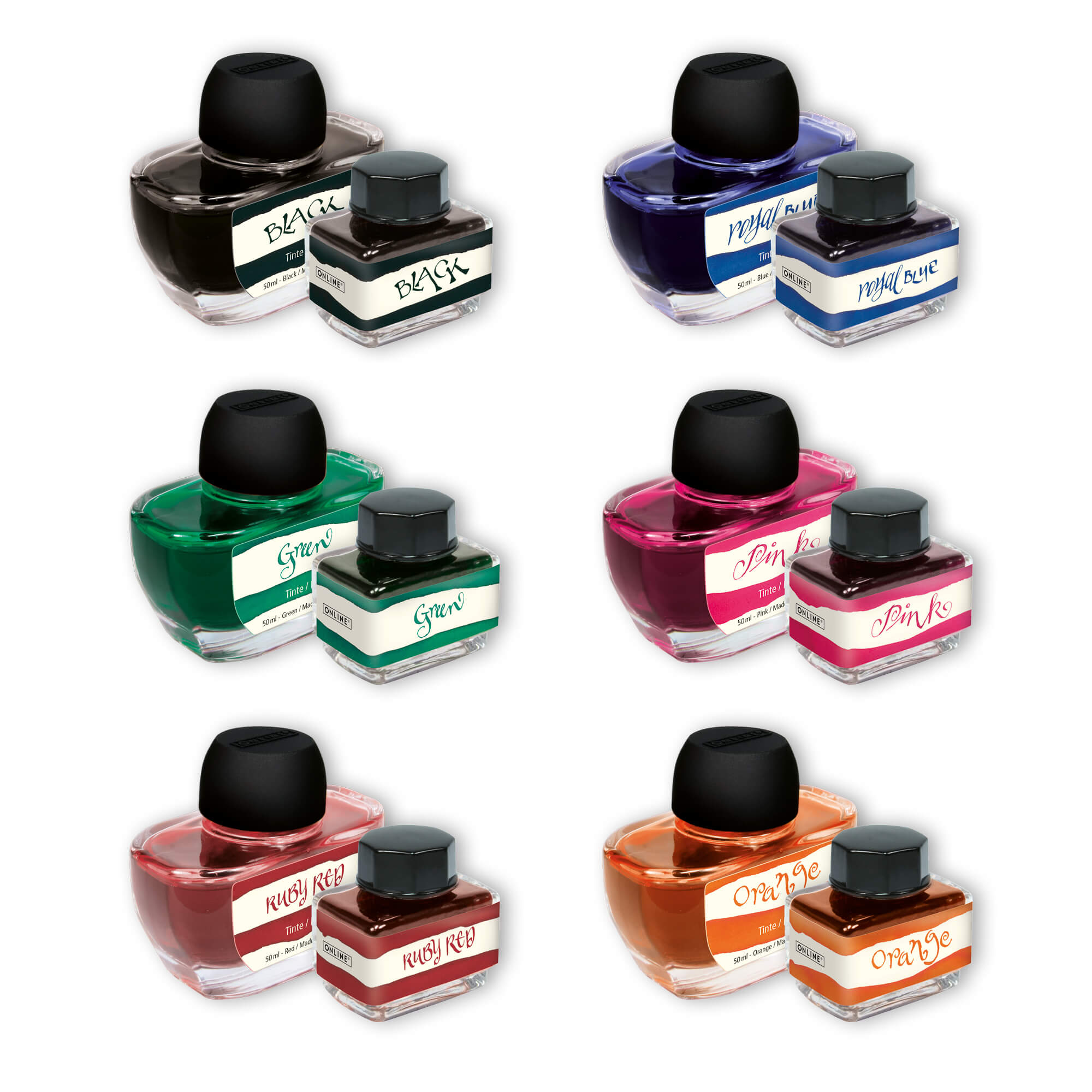 Ink Colour Inspiration