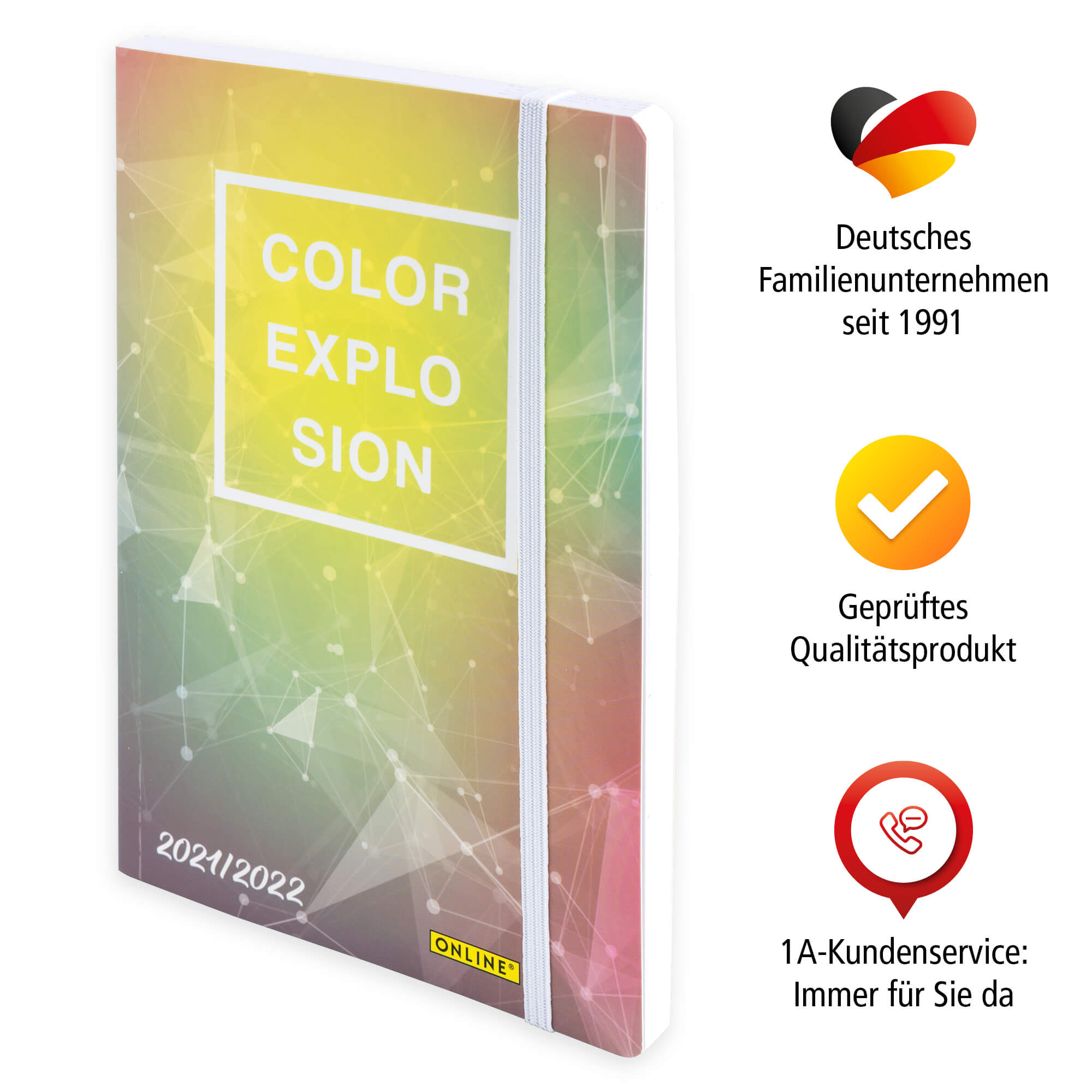 "Creative Diary 18 Monate ""Color Explosion"""