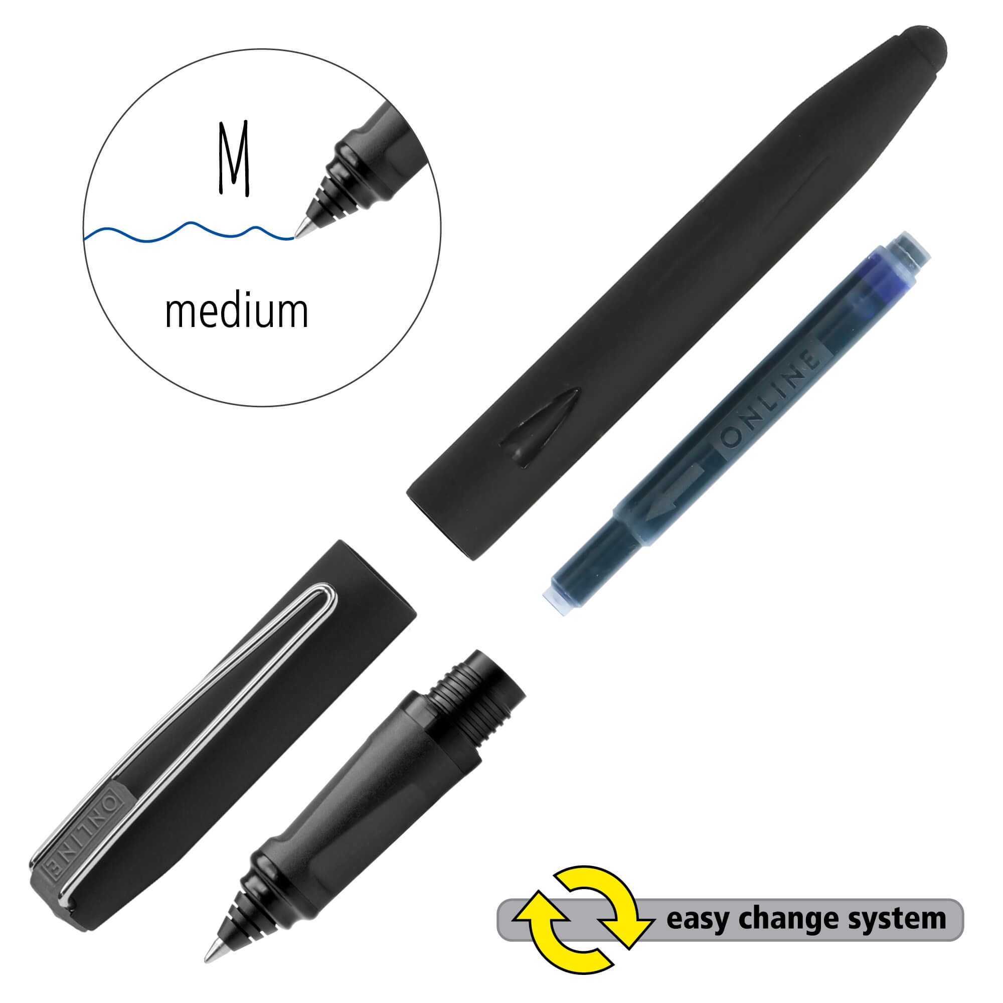 Ink Rollerball Switch Plus