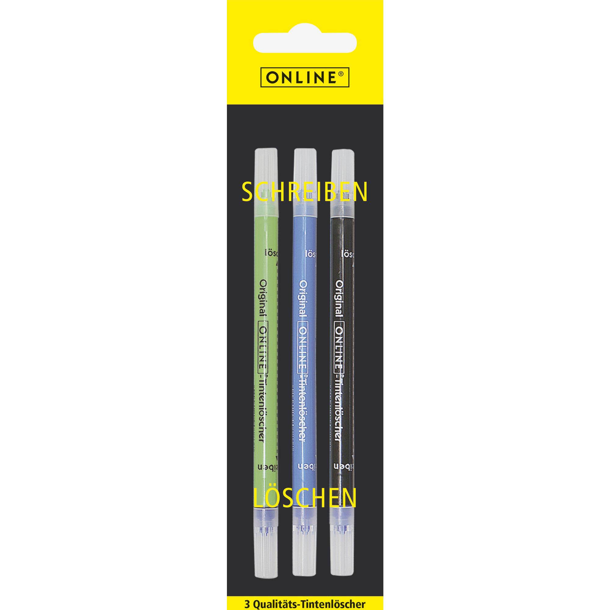 Ink Eraser, 3 pcs.