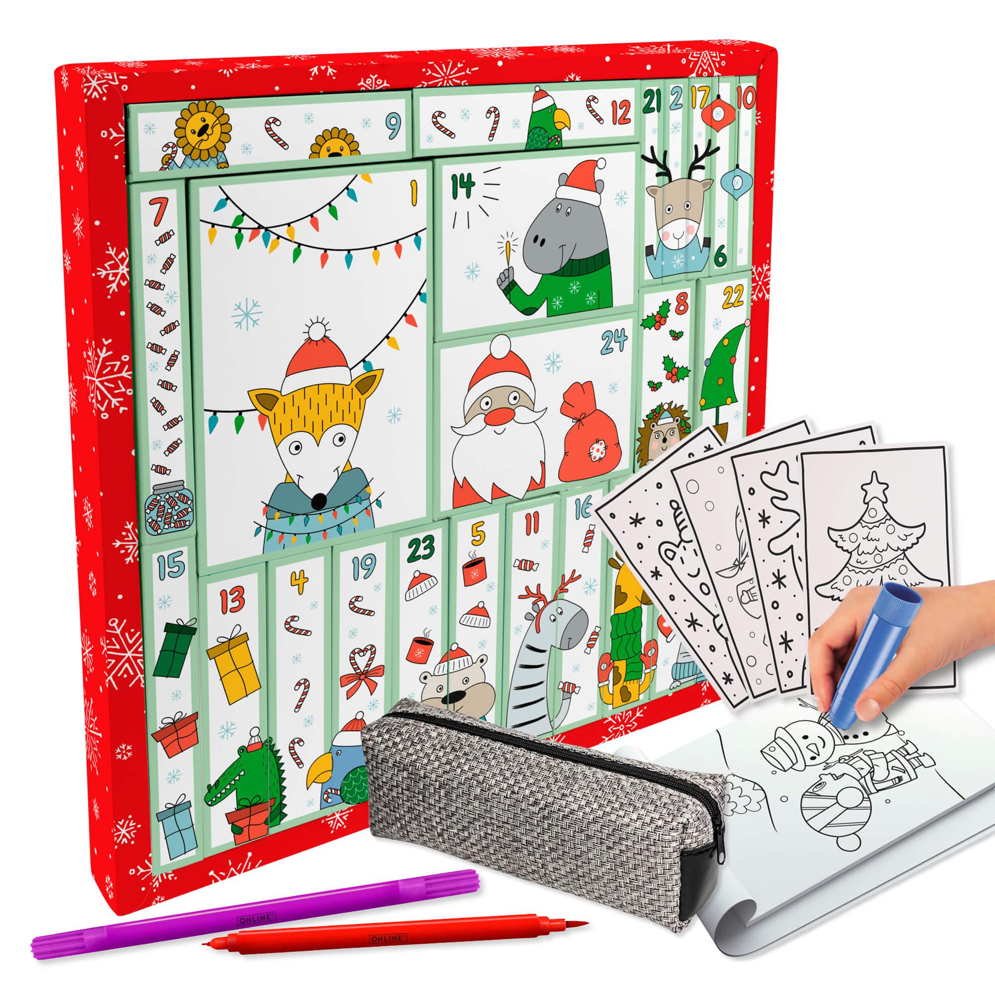 Online Adventskalender Kindergartenkinder